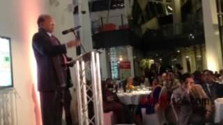 Tofail Ahmed at London e-commerce fair dinner