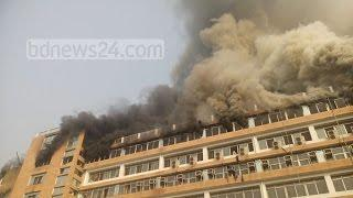 Fire in Factory at Gazipur