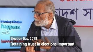 Retaining trust in elections important