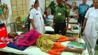 Injured police recover after cafe attack
