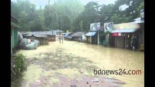At least 18,000 families affected in Bandarban by incessant rainfall