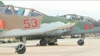 Russian jets head into war in Syria